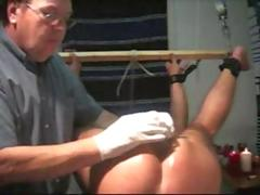 Real slave session bdsm