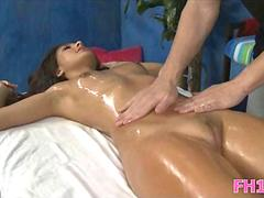 Massage with a surprise fuck segment clip