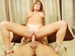 Hardcore milf Darla Crane gets face fucked and impaled