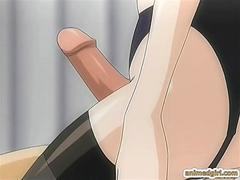 Two shemales hentai with bigboobs hot fucking eachothers