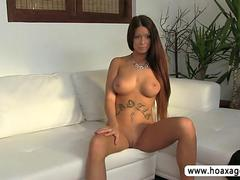 Luscious euro chick Petra gets pussy pounded
