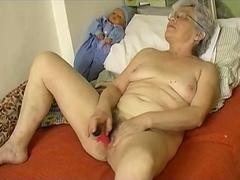 Granny enjoying the solitude in a quality way