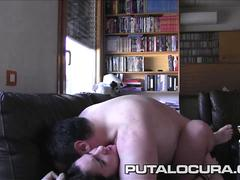 PUTA LOCURA First Timer Latina fucked for webcam fans