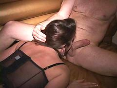 sucking on her wet cunt so she cums completely