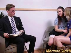 Sucking mormons spunked
