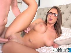 PropertySex Captain Bangs Real Estate Agent Layla London