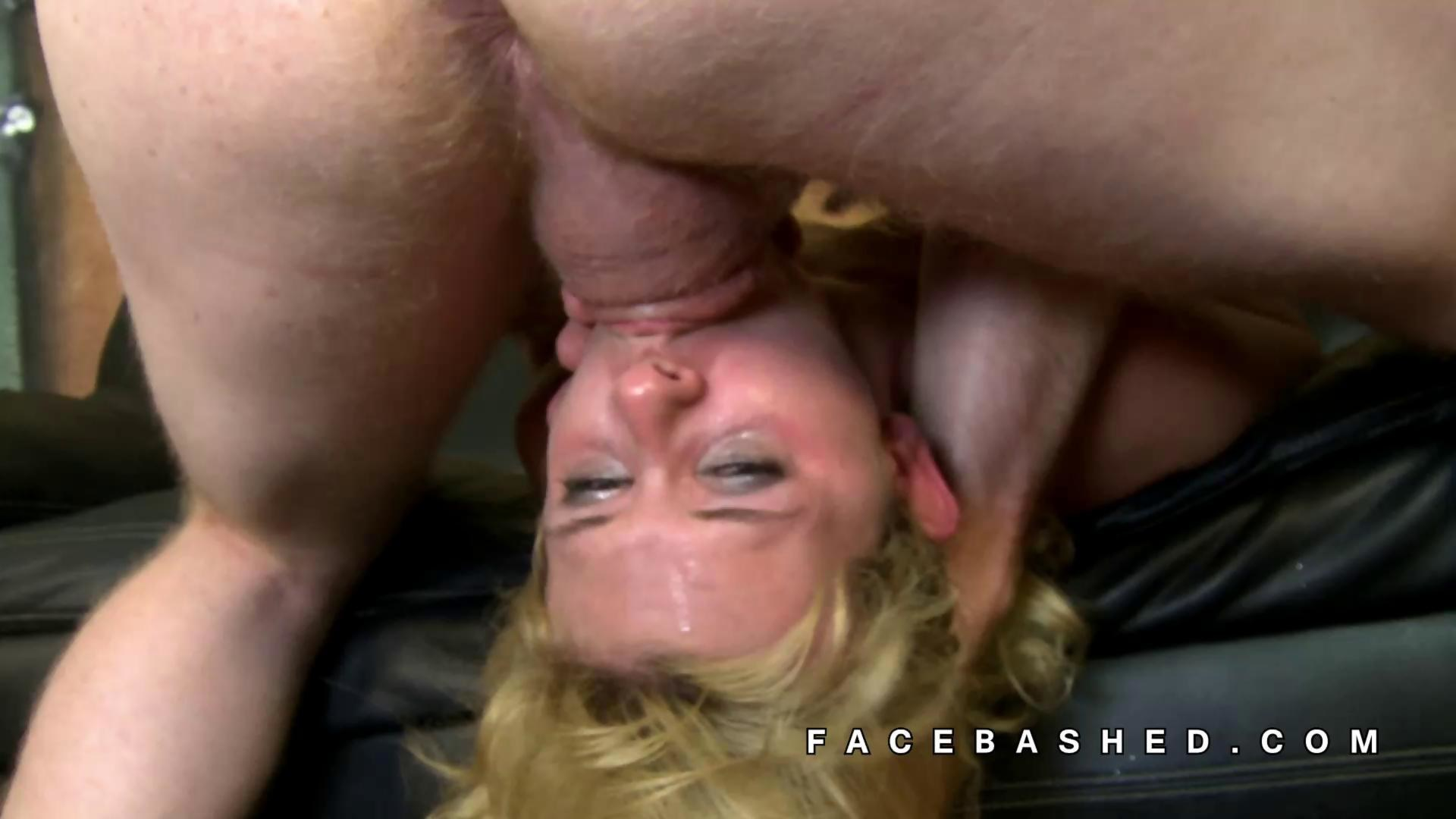 Rough Mouth Face Fucking