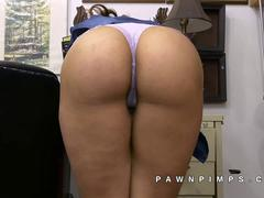 Kitty Katherine at pawn shop of sex