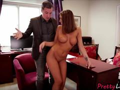 Sexy wife August Ames cheating now