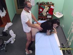 Doctor fucking patient in hospital