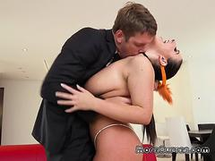 Bombshell Angela White Gets Dicked Down By Fiance
