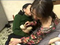 Japanese Grannys Panties Rubbing
