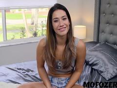 Eva Lovia, Haley Reed BF Snowballing Stepsister and GF