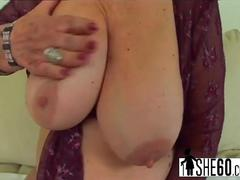 Hairy pussy banged with fat dick