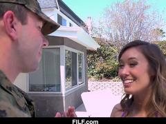StepMom Welcomes Her Soldier StepSon Home