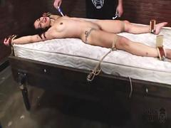 M-F Dungeon Corp Tied for Tickling