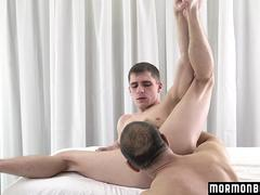 MormonBoyz - Mormon Has Secret Sex With Daddy