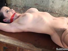 Gagged euro drilled by masters toys