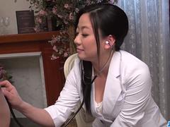 Busty Shino Izumi loves sucking the cock until orgasm - More at 69avs.com