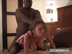 wife enjoys that big dick in her tight pussy
