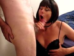 Tranvestite love to suck her husband cock and fuck