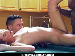 SheWillCheat - Horny WIfe Cheats with BBC