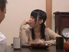 good fuck for teen japanese girl durring dinner video