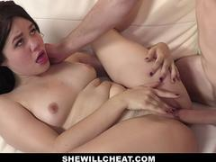 SheWillCheat - Asian Wife Drilled By Boy Toy