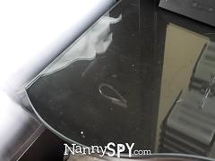 NANNYSPY Desperate Nanny Fucks Dad