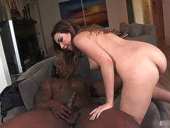 Melissa Moore is ready to get her pussy stretched out by a huge