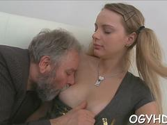 crazy old dude fucks girl clip segment 2