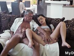 Mom makes compeer cronys step brother and  friends sister fuck hot milf girl first