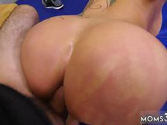Big ass horny mom and tit milf for compeer step pal Dominant MILF Gets A Creampie After