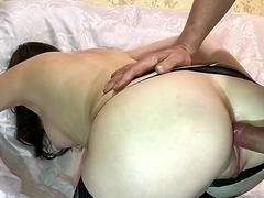 Fucked Teen Girlfriend in Tight Ass - Blowjob and Anal Fingering ComerZZ 720p