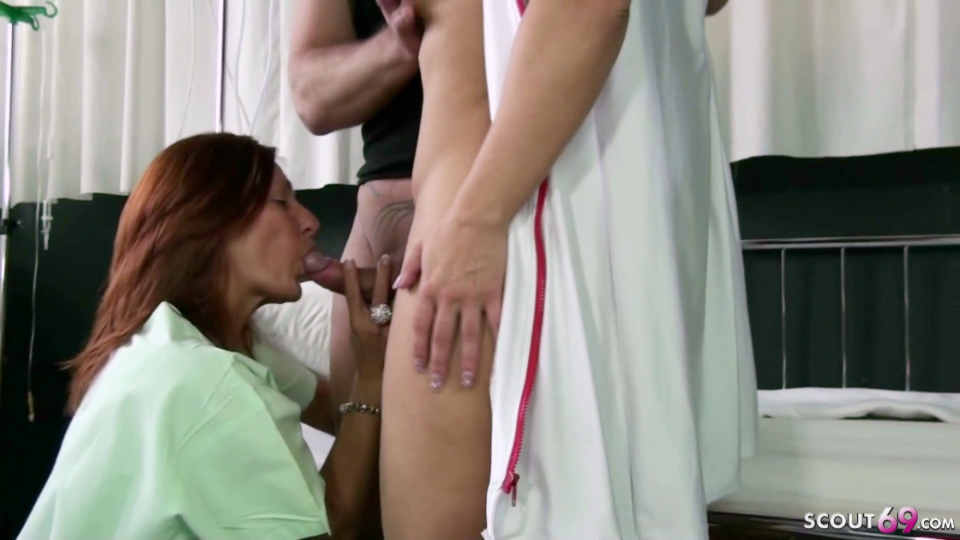 Naughty Nurses Fucks Patient
