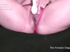 Horny Babe Films Herself Edging Her Super Wet Pussy To Snapping Orgasm