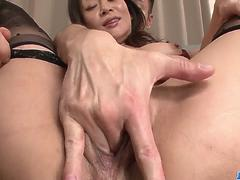 Busty Rei Kitajima deals cock in superb group scenes - More at javhd.net