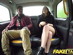Fake Taxi Driver fucks abandoned girlfriends tight pussy and magic mouth
