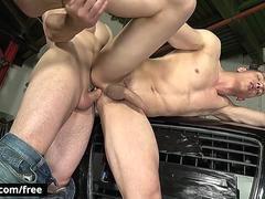Dick Chayne with Peter One at Workshop Whore Scene