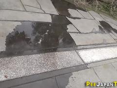 Asians leave pee puddles