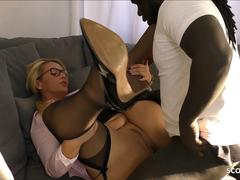 MILF TEACHER SEDUCE MONSTER COCK BLACK STUDENT FUCK GERMAN
