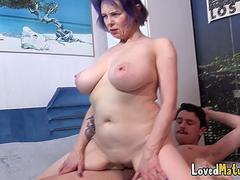 Big tits mature Tigger gets fucked raw and well