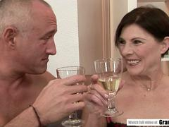 Old GILF Squirting all over the place