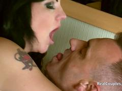 Horny MILF gets pounded by boyfriend