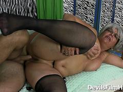 Horny Grannies - Kelly Leigh, Jamie Foster, Penny Sue and Erica Lauren