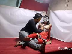 Indian Bhabhi In Traditional Outfits Sex With Her Devar