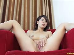 Hot sexy Chinese model interview for the first time
