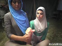 Arab playmates daughter first time Sneaking in the Base