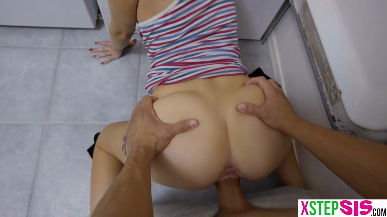 Step Mom Step Sister Fuck Son