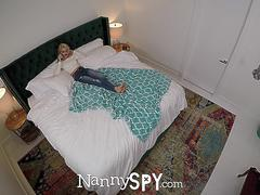 NANNYSPY Blonde Nanny Babes Caught And Fucked Compilation